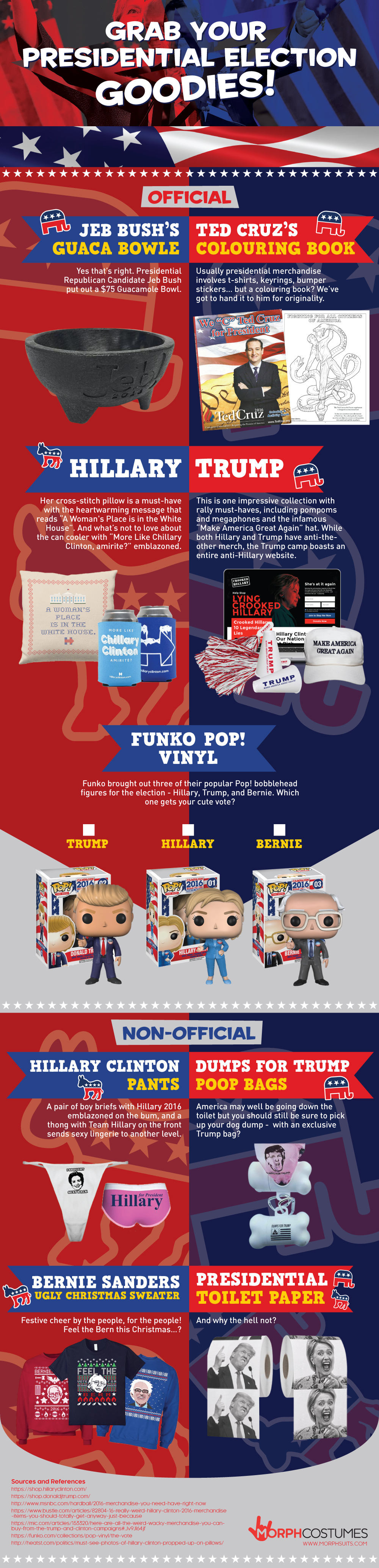 Grab your 2016 US Presidential Election Goodies!
