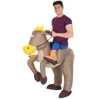 Horse Ride On Inflatable Costume