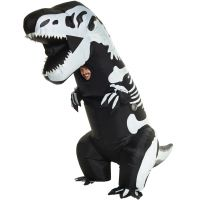 Giant T-Rex Skeleton Inflatable Costume