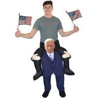 The Opponent Presidential Candidate Piggyback Costume