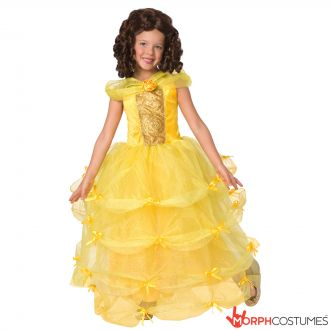 Kids Storybook Deluxe Princess Costume - Yellow