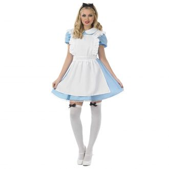 Womens Traditional Alice Costume