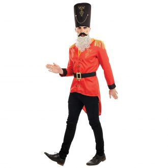 Mens Festive Toy Soldier Costume