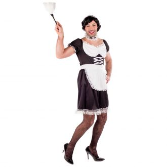 Mens Sexy French Maid Costume