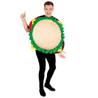 Adult Cheese Burger Costume