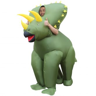 Triceratops Giant Inflatable Costume